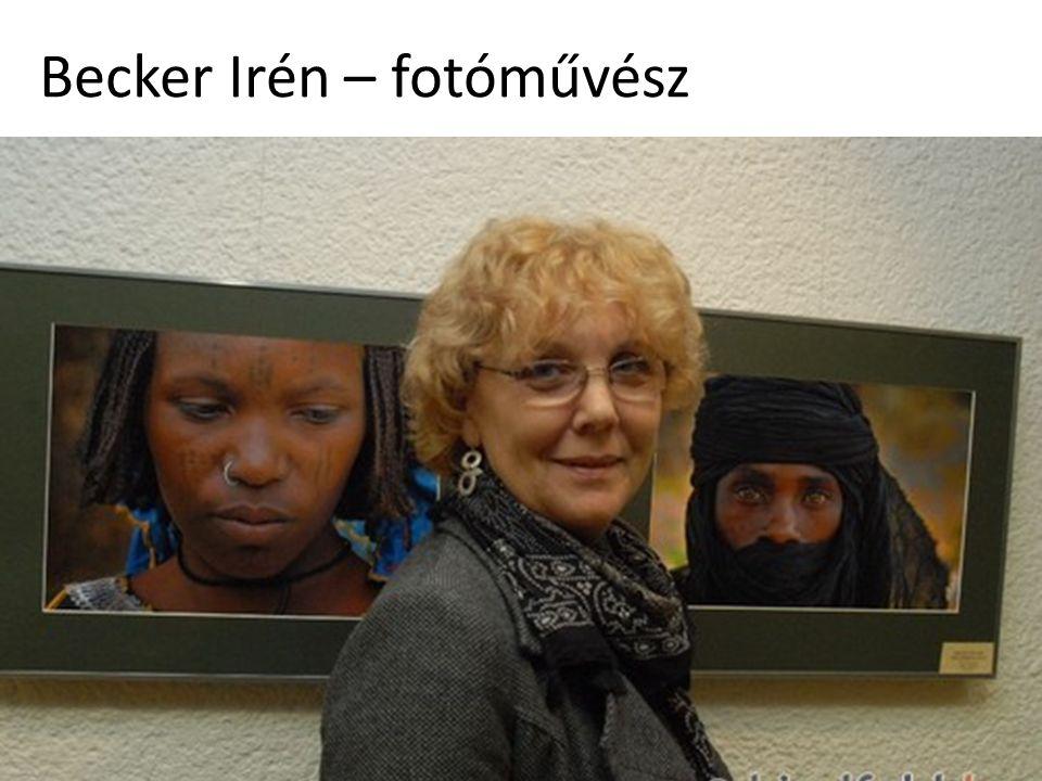 Becker Irén – fotóművész