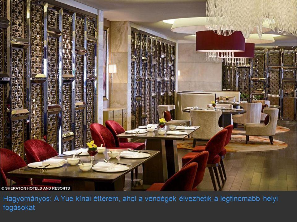 Hagyományos: A Yue kínai étterem, ahol a vendégek élvezhetik a legfinomabb helyi fogásokat