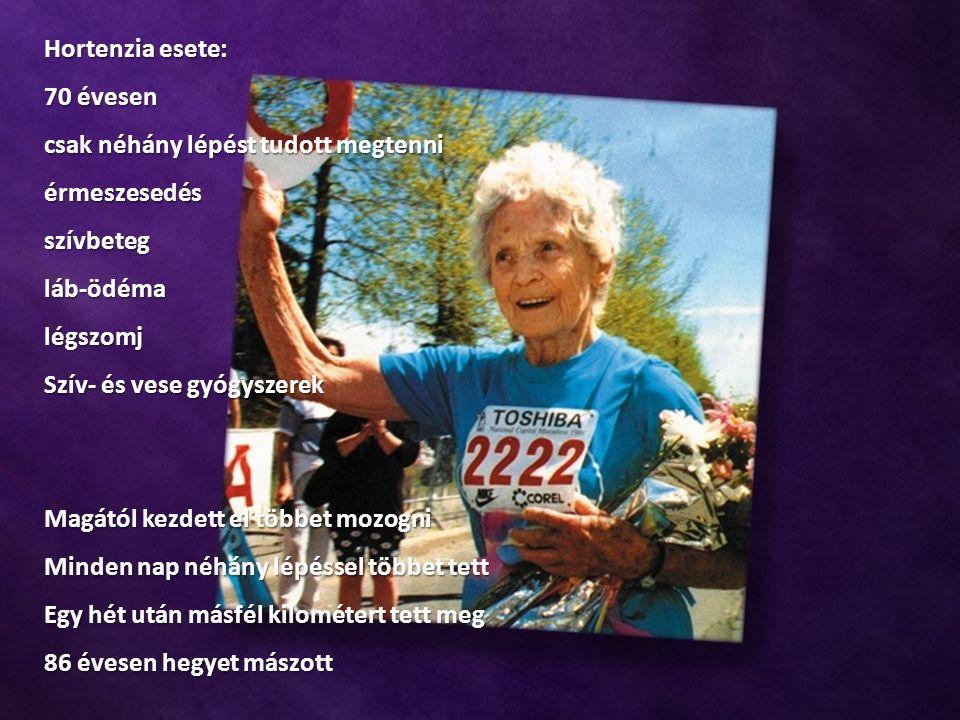 Hortenzia esete: 70 évesen csak néhány lépést tudott megtenni érmeszesedésszívbetegláb-ödémalégszomj Szív- és vese gyógyszerek Magától kezdett el több