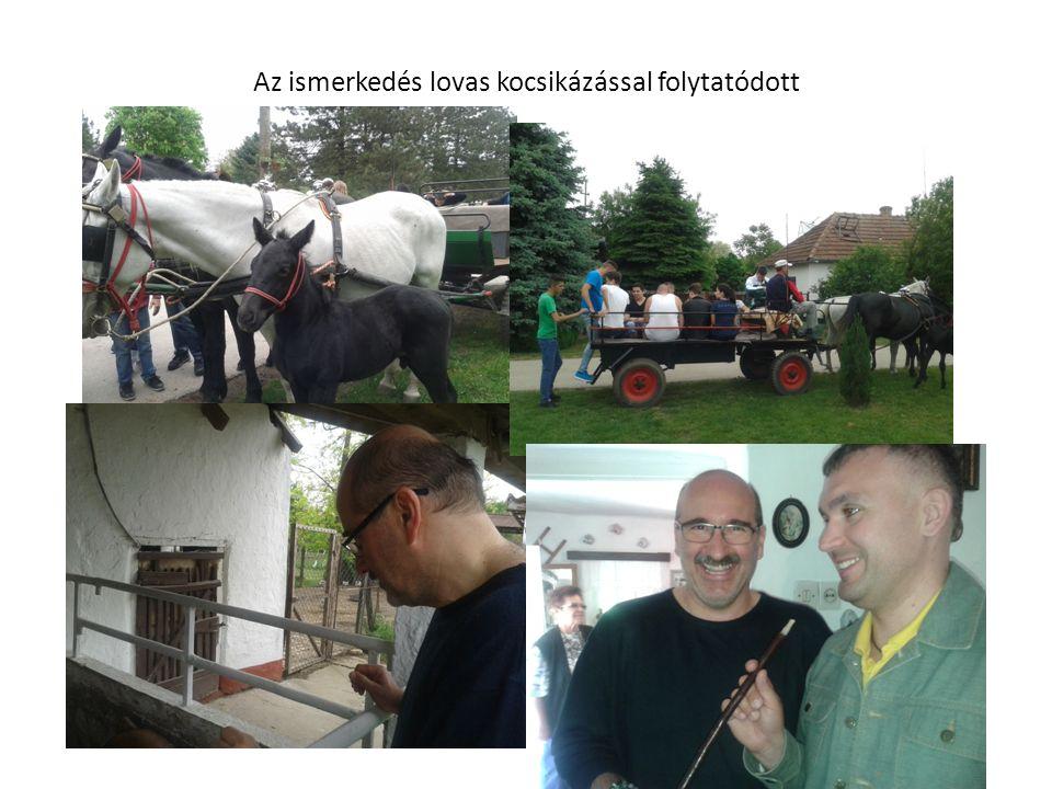 Az ismerkedés lovas kocsikázással folytatódott