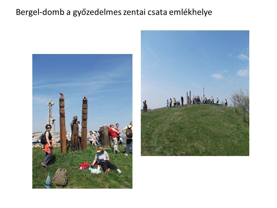 Bergel-domb a győzedelmes zentai csata emlékhelye