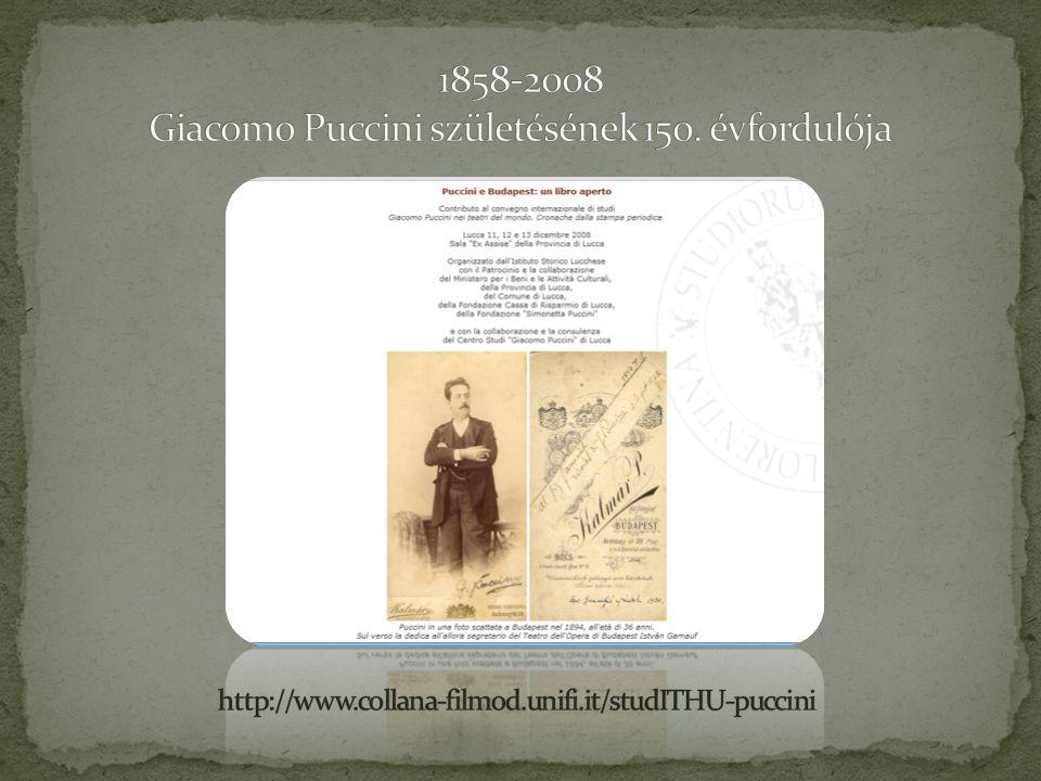 Puccini valóban kötődött Budapesthez.