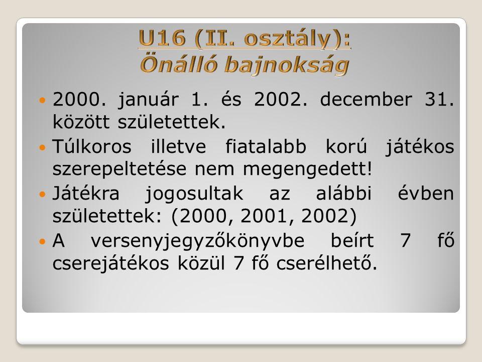 2000. január 1. és 2002. december 31. között születettek.