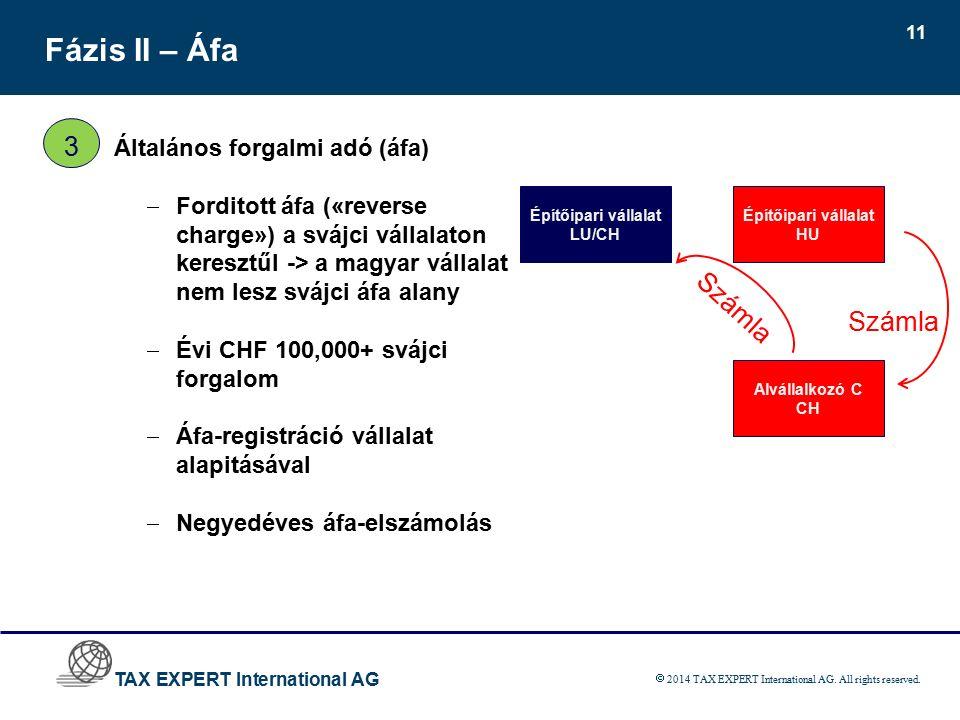 TAX EXPERT International AG  2014 TAX EXPERT International AG.