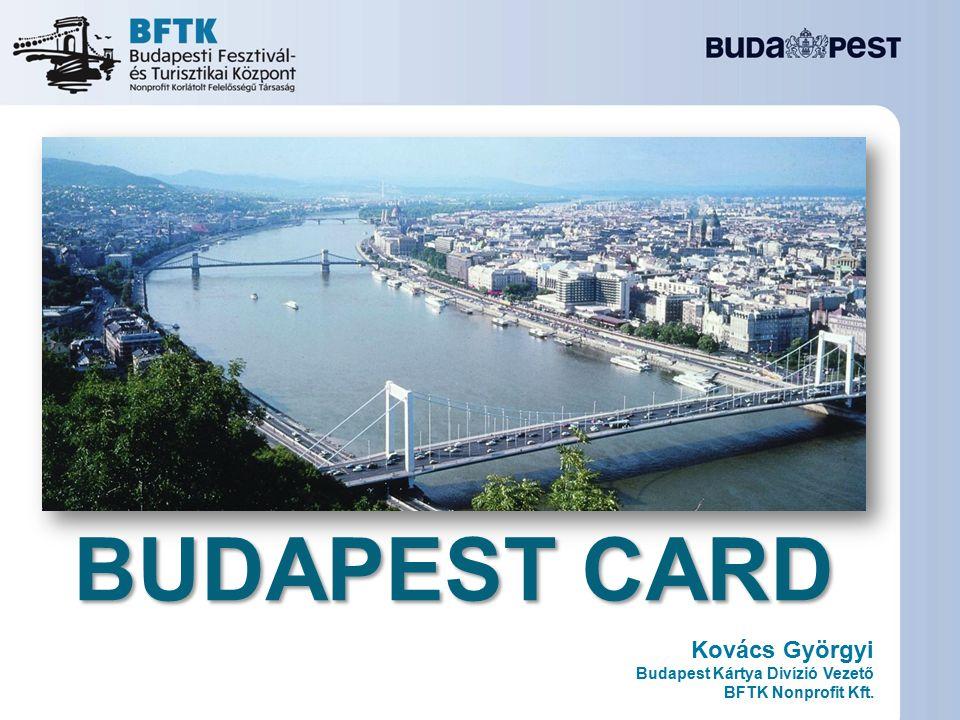 Kovács Györgyi Budapest Kártya Divízió Vezető BFTK Nonprofit Kft. BUDAPEST CARD