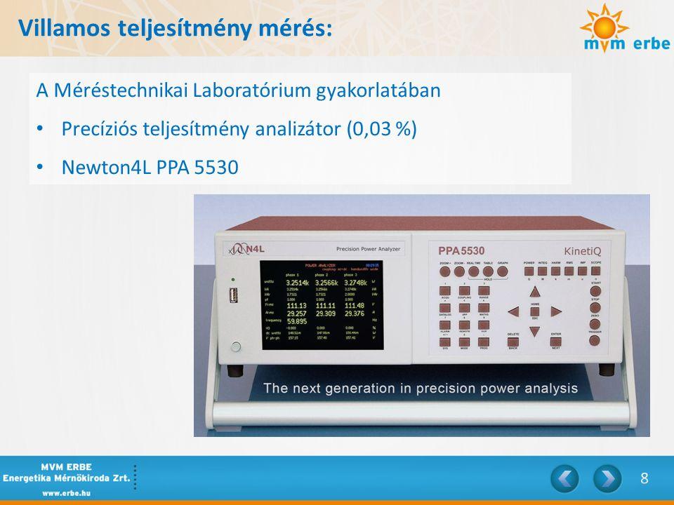 Villamos teljesítmény mérés: Három wattmérős négyvezetékes kapcsolás