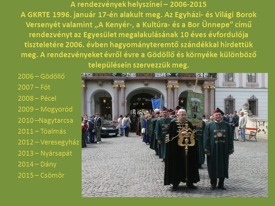 Borrendek, egyéb lovagrendek, hagyományőrzők, majorettek, fúvós zenekar felvonulása