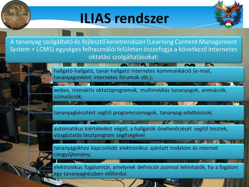 ILIAS rendszer