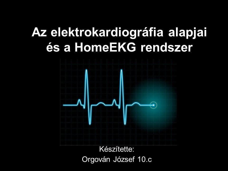 Az elektrokardiográfia alapjai és a HomeEKG rendszer Készítette: Orgován József 10.c
