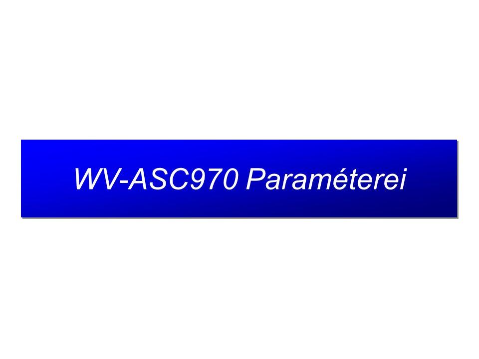 19 Csatolható alrendszerek Max 64 szatelit rsz ASC970 #2 Network (LAN/WAN) WV-ASC970 akár 64 szatelit rendszer.