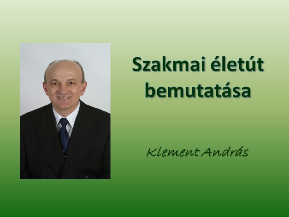 Klement András