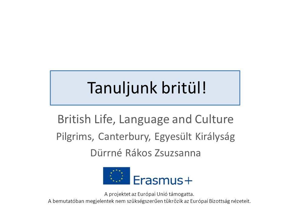 Tanuljunk britül.