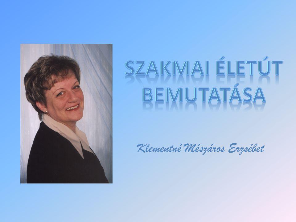 Klementné Mészáros Erzsébet