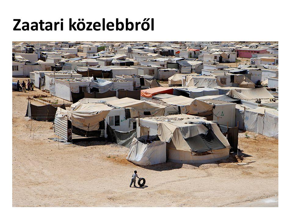 Zaatari közelebbről