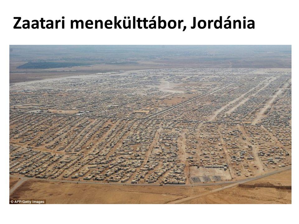 Zaatari menekülttábor, Jordánia