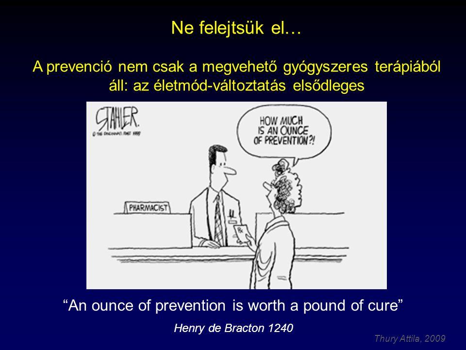 """Thury Attila, 2009 Primer, szekunder és """"tercier prevenció prevenció kezdete Dr."""