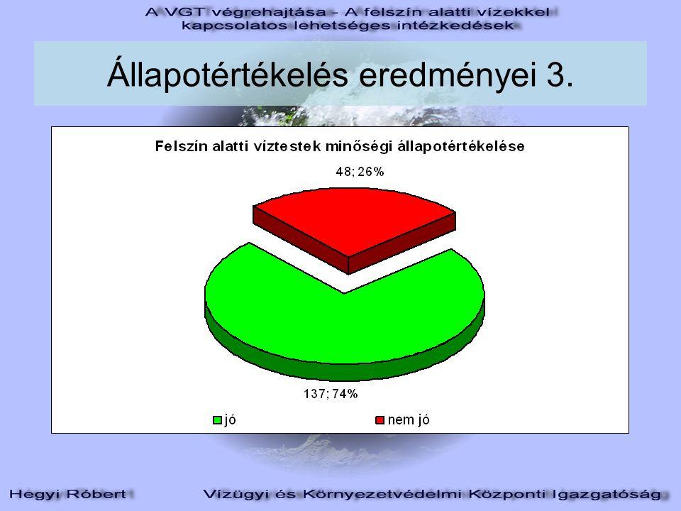 Állapotértékelés eredményei 3.
