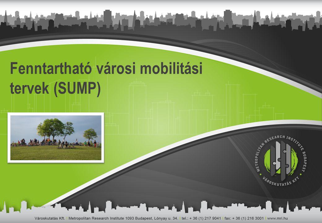 Fenntartható városi mobilitási tervek (SUMP)