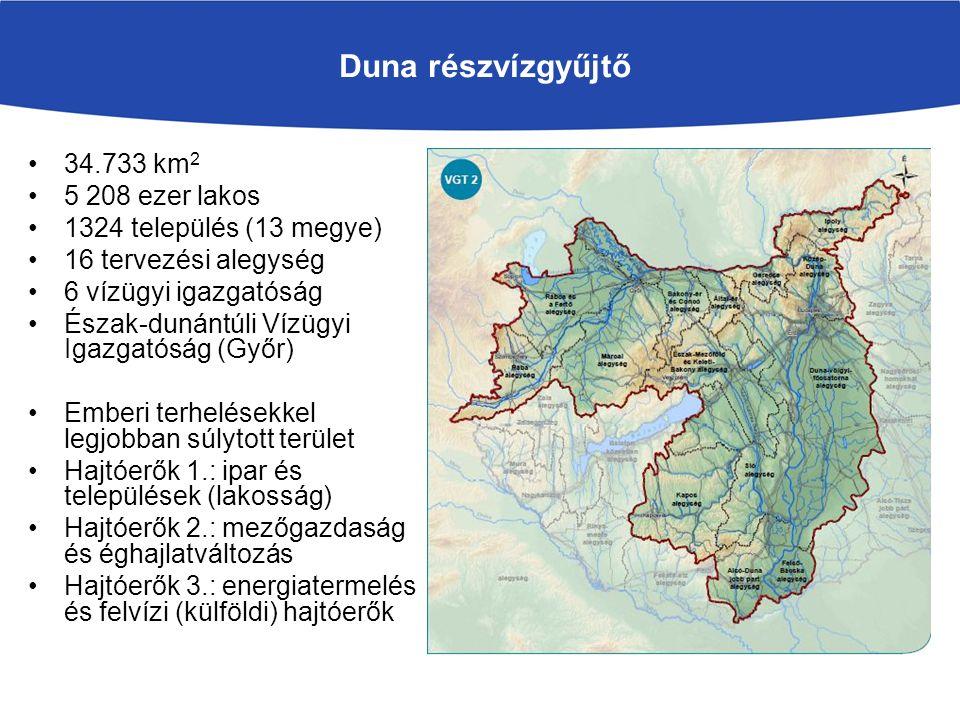 Ökológiai vízigény meghatározása Hasznosítható készlet meghatározása Ha a vízkivételek nagyobbak, mint a hasznosítható készlet, akkor jelentős a vízhasználat Ha a vízkivételek elérik a hasznosítható készlet 90%- át, akkor fontos a vízhasználat Mesterséges csatornákon szabályozott a vízszolgáltatás, de a vízszállítás kapacitás függő VÍZKIVÉTELEK ÉS KÉSZLETEK ÉRTÉKELÉSE 68 víztesten vízkivételeket csökkenteni kell, 13- nál alig maradt kiadható készlet, 132-nél nincs készlet, 86 mesterségesnél az elégtelen kapacitások korlátozzák csak a vízellátást