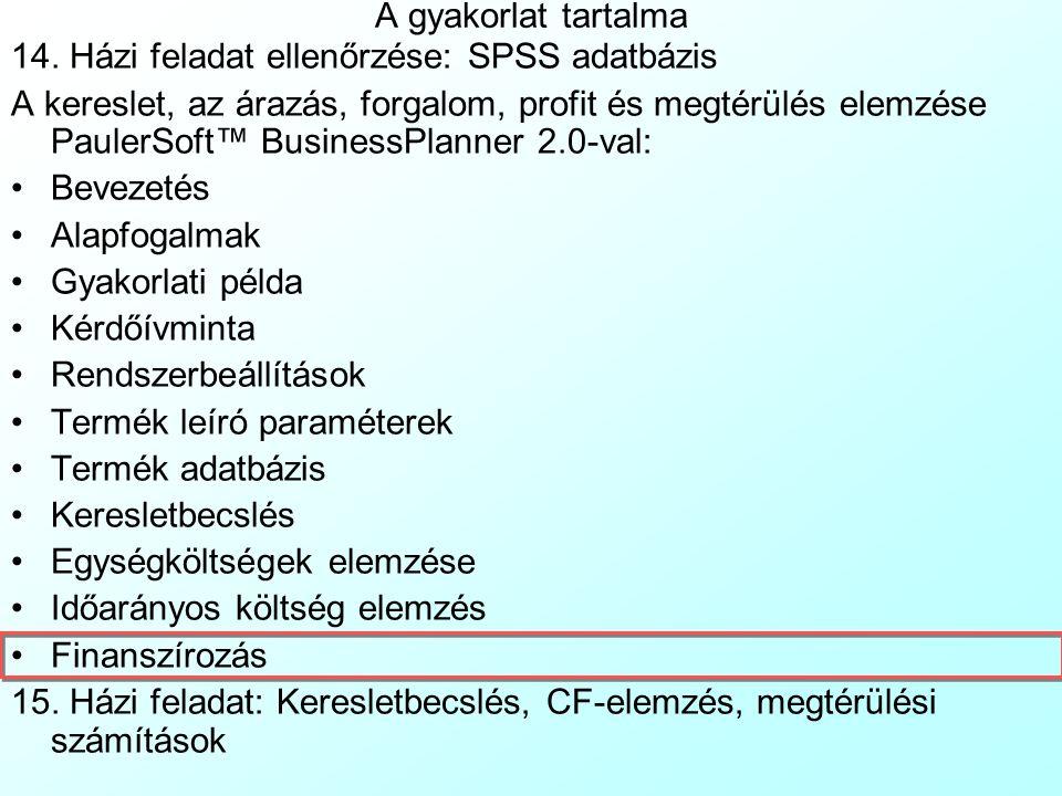 PaulerSoft™ BusinessPlanner 2.0: Időarányos-költség elemzés 4 Amennyiben gép- és raktárberuházás helyett eszközöket bérelünk, ezt a bérelt irodák/fels
