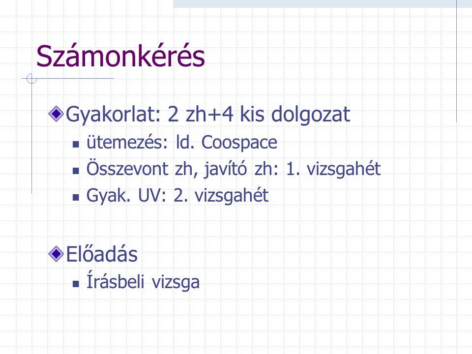 Osztályozás Példák Áruszállítás a forgalom jellege szerint 2000-ben Forrás: Magyar Statisztikai Zsebkönyv 2001.