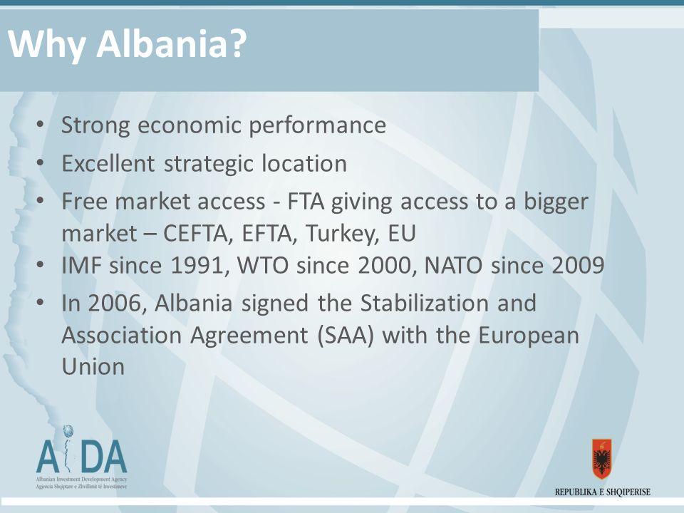 Why Albania.