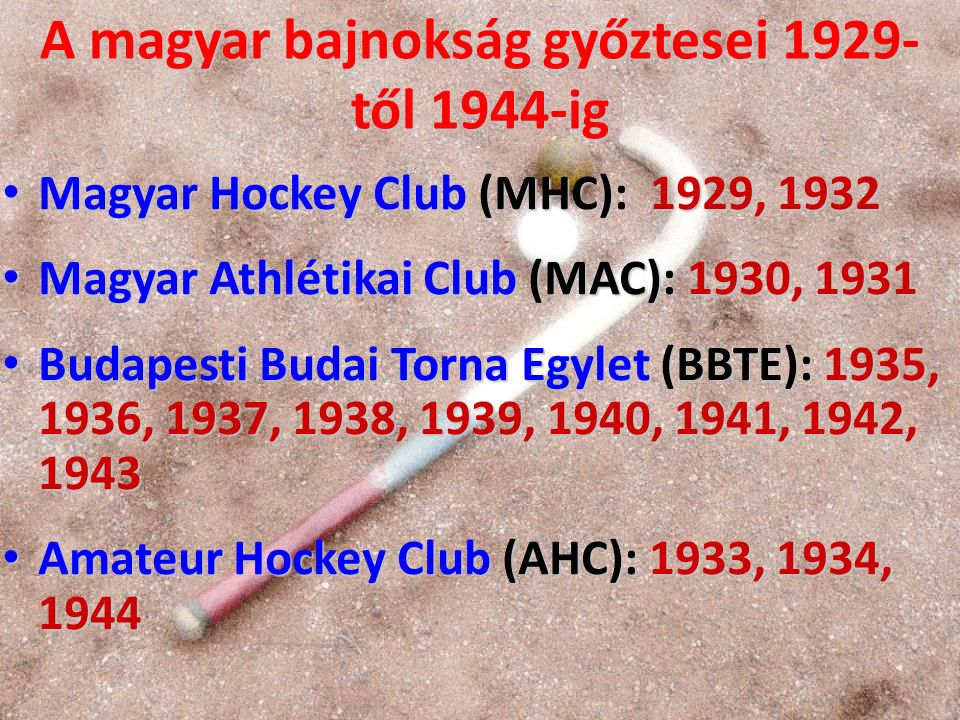 Magyarországi klubok 1930-ban Magyar Athlétikai Club: jó, kiegyensúlyozott csapat volt ekkor, az MHC-t ekkor szoros versenyben előzte meg a bajnoki címért.