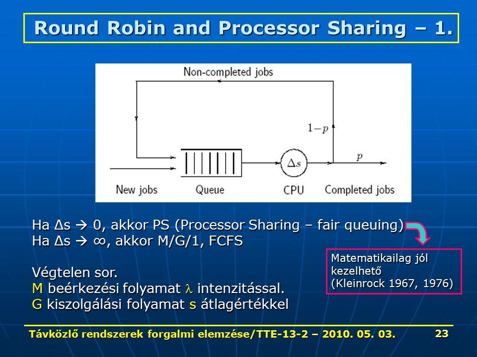 Távközlő rendszerek forgalmi elemzése/TTE-13-2 – 2010.