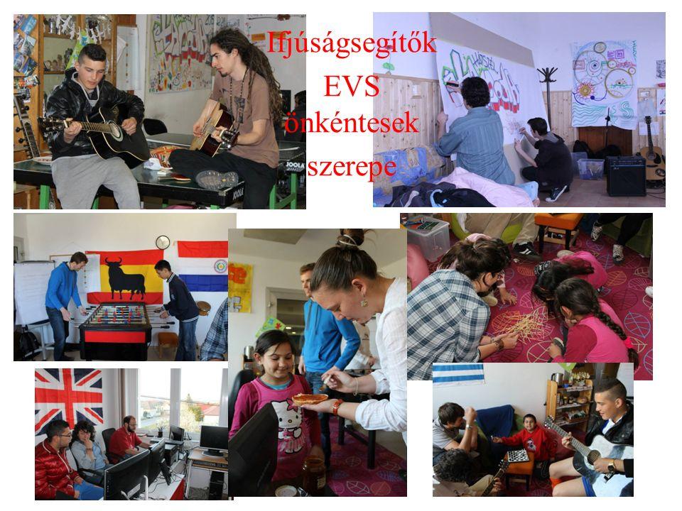 Ifjúságsegítők EVS önkéntesek szerepe