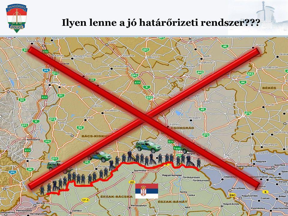 Ilyen lenne a jó határőrizeti rendszer???
