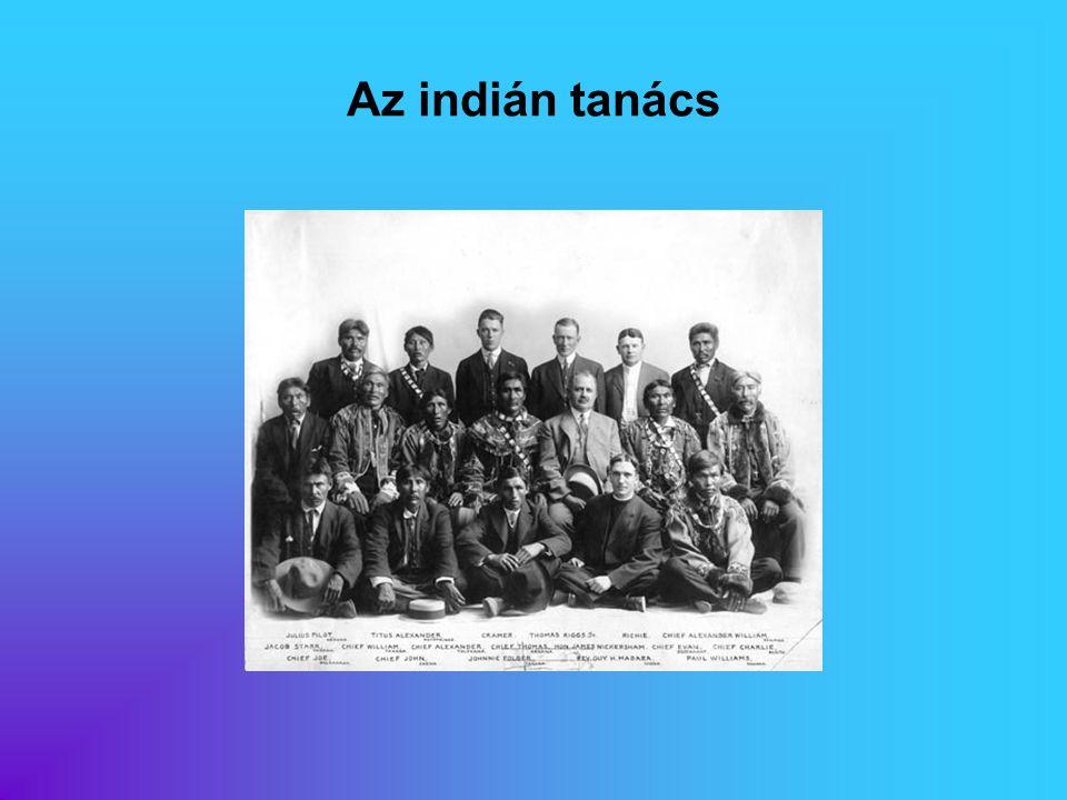 Az indián tanács