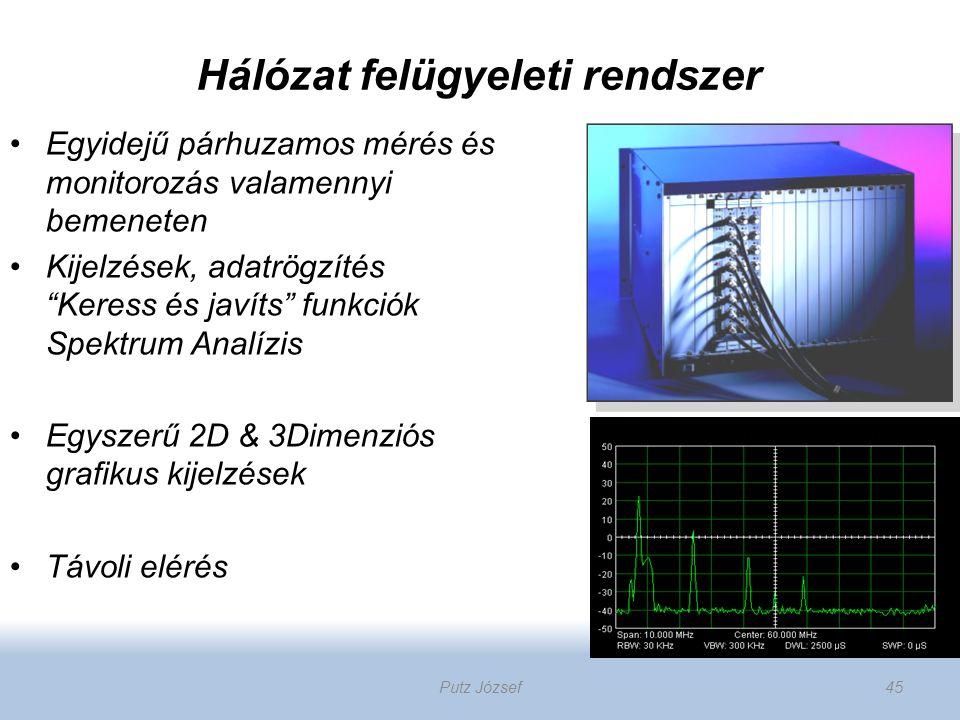 """Hálózat felügyeleti rendszer Egyidejű párhuzamos mérés és monitorozás valamennyi bemeneten Kijelzések, adatrögzítés """"Keress és javíts"""" funkciók Spektr"""