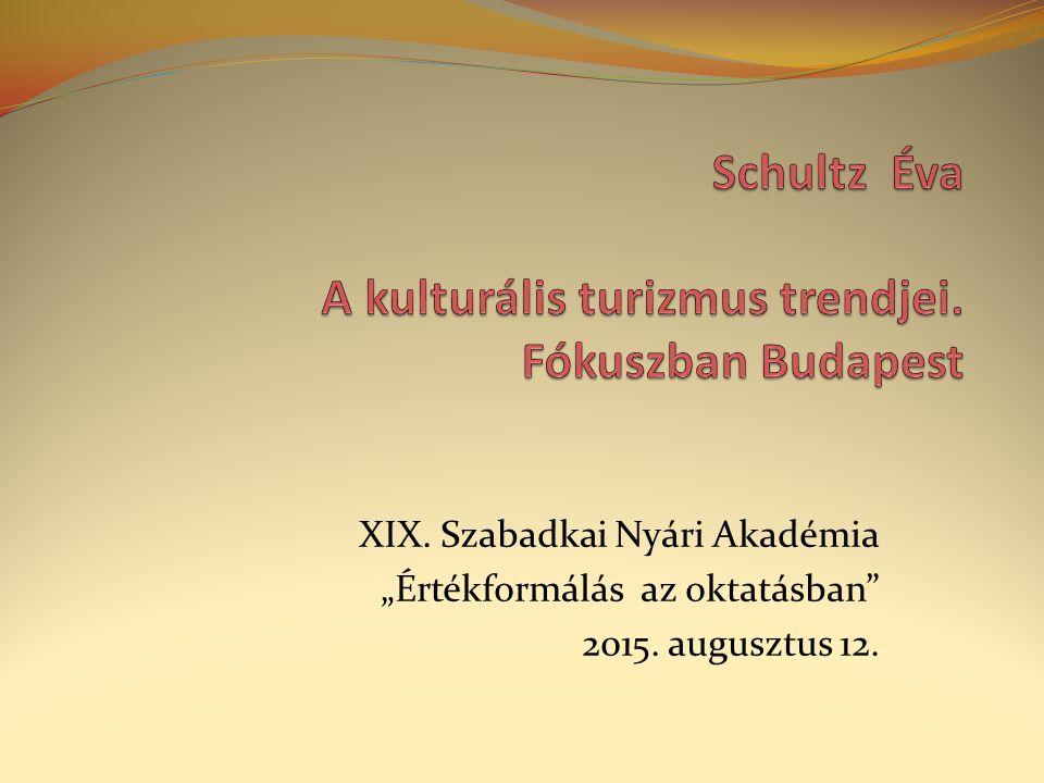 """XIX. Szabadkai Nyári Akadémia """"Értékformálás az oktatásban 2015. augusztus 12."""