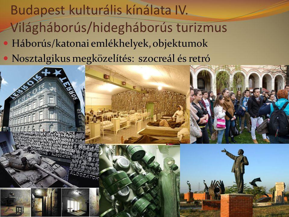 Budapest kulturális kínálata IV.