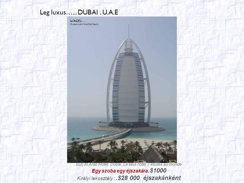 Legmagasabb…..... DUBAI