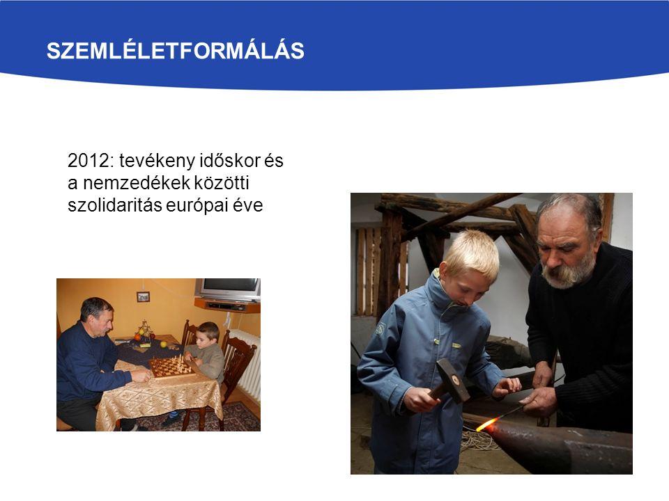 SZEMLÉLETFORMÁLÁS 2012: tevékeny időskor és a nemzedékek közötti szolidaritás európai éve
