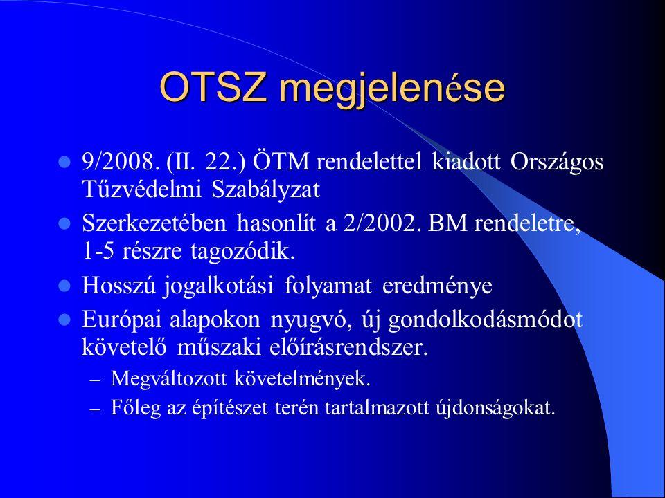 OTSZ megjelen é se 9/2008. (II.