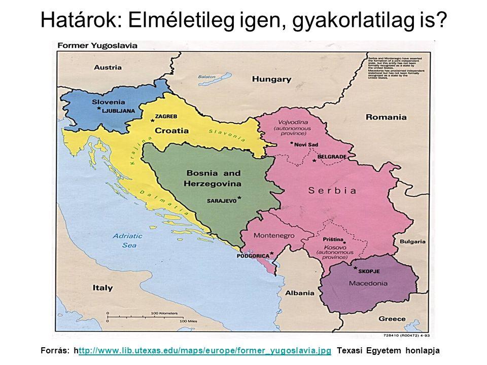 Előzmények, az ellentétek forrásai Eltérő utak, eltérő fejlettség Sokáig török uralom – muszlin behatás Egyrészt vallási megosztottság Másrészt keveredés – szerbek, horvátok, bosnyákok, szlovének Első Jugoszlávia (1918-1941)