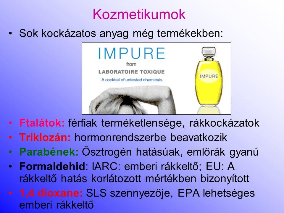 Kozmetikumok Kozmetikumokra szigorúbb szabályok, címkézés hatékonyabb, 2010-től hatályos 1223/2009-es rendelet a kozmetikai termékekről, a CLP 1A. és