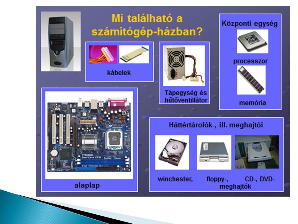 Be viszek adatotKi viszek adatot  Billentyűzet  Egér  Pendrive  Mikrofon  Webkamera  Scanner  Joystick  Mobiltelefon  Hangkártya  Nyomtató  Projektor  Hangszóró  Pendrive  Mobiltelefon  Hangkártya