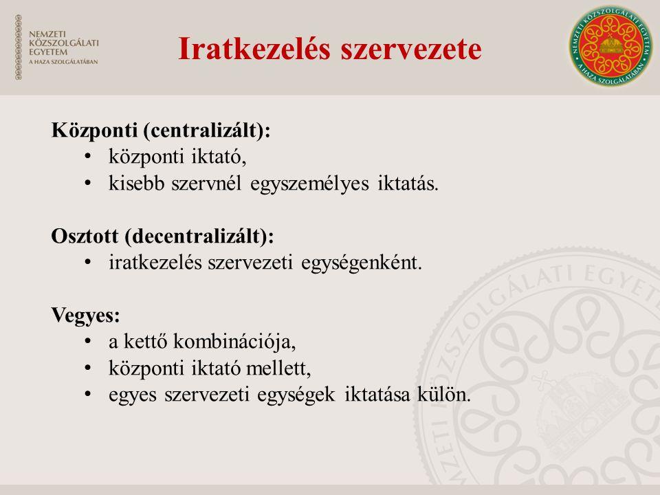 Egységes kormányzati ügyirat-kezelő rendszer Rendszerbe bevont szervek: minisztériumok és háttérintézményeik, kormányhivatalok, központi hivatalok, rendvédelmi szervek.