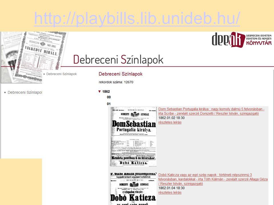http://playbills.lib.unideb.hu/