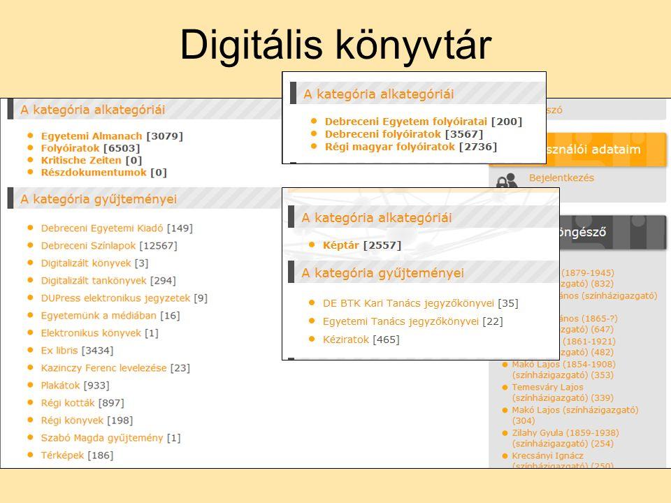 Digitális könyvtár