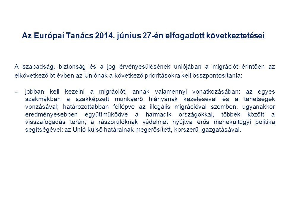 Az Európai Tanács 2014.