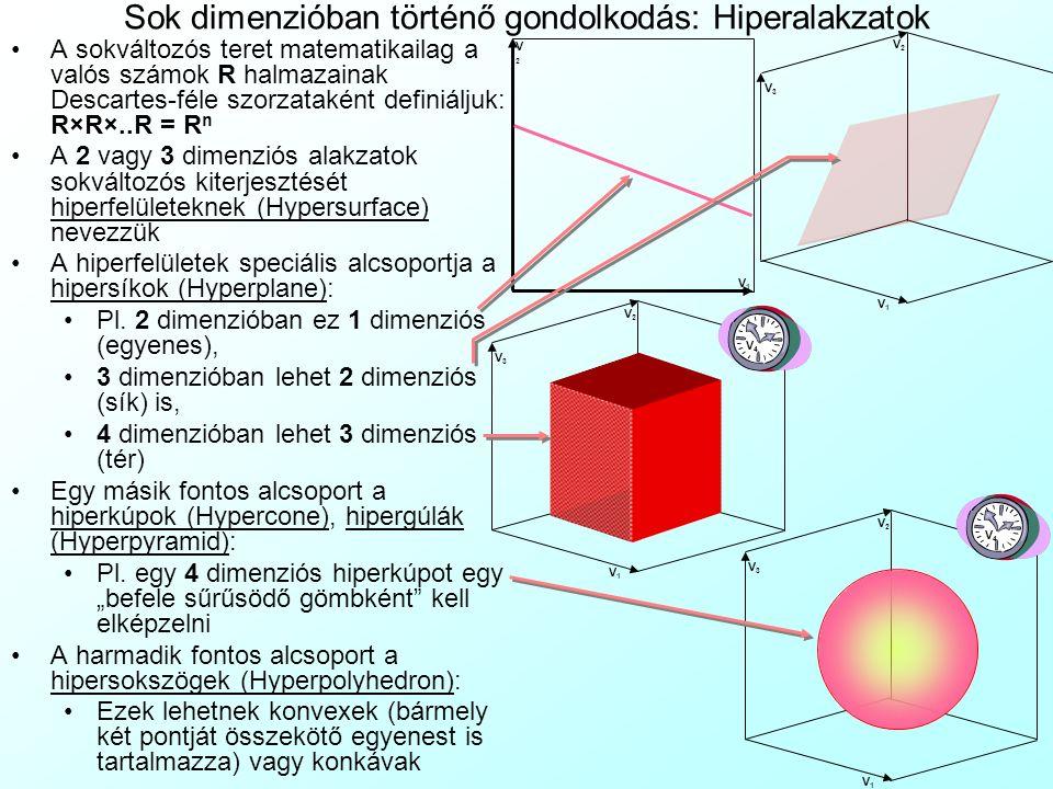 A gyakorlat tartalma 13. Házi feladat ellenőrzése: Kérdőívterv Sokváltozós problémák kezelése Grafikai szemlélet A sokváltozós elemzések Sokdimenziós