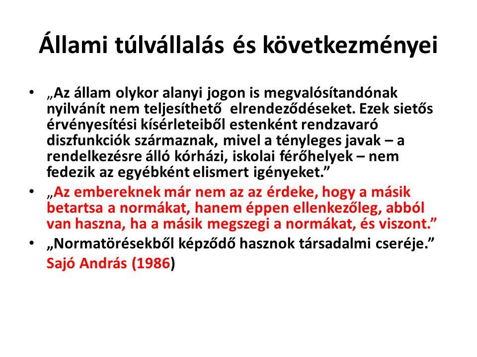 Kötelező tananyag Gönczöl Katalin: Bűnös szegények. 129-152. o. 174-202. o.