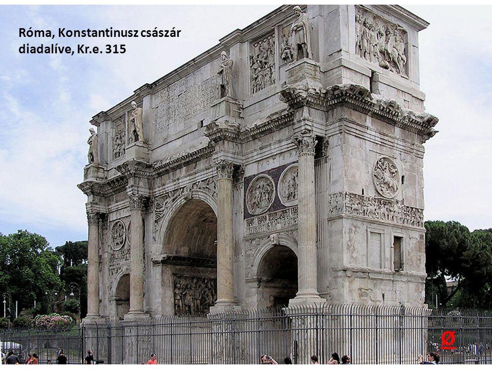 Róma, Konstantinusz császár diadalíve, Kr.e. 315 Ø