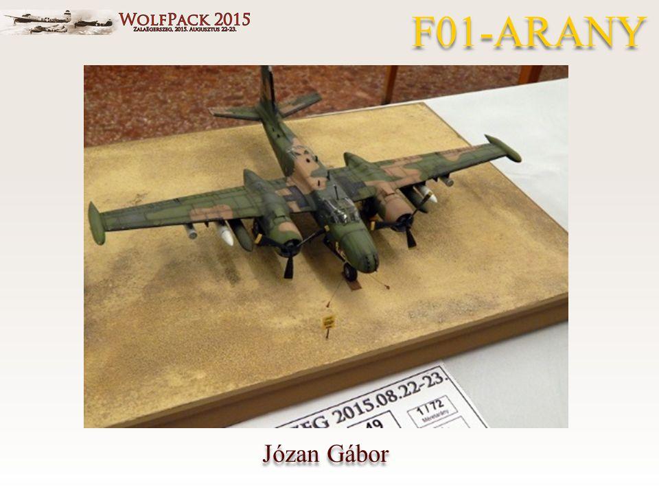 Józan Gábor F01-ARANY