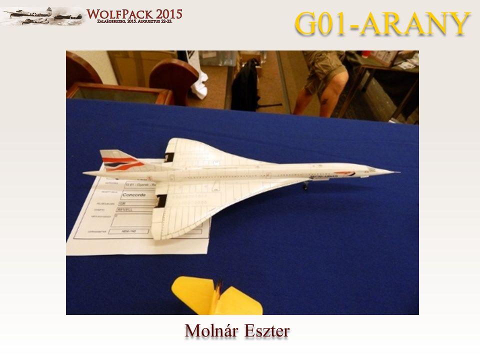 Molnár Eszter G01-ARANY