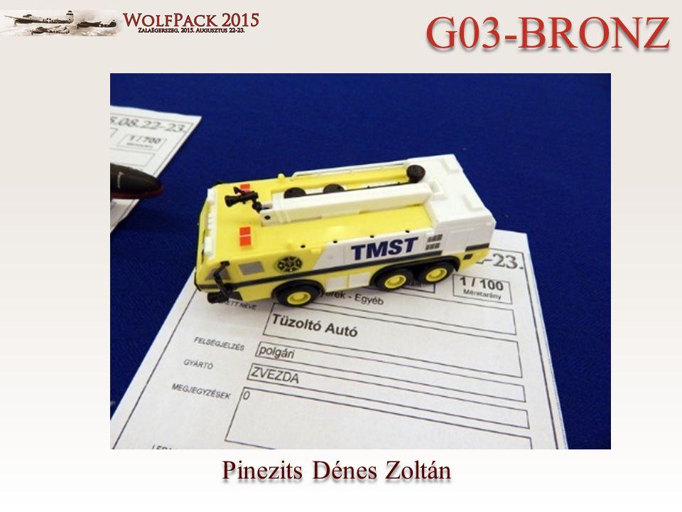 Pinezits Dénes Zoltán G03-BRONZ